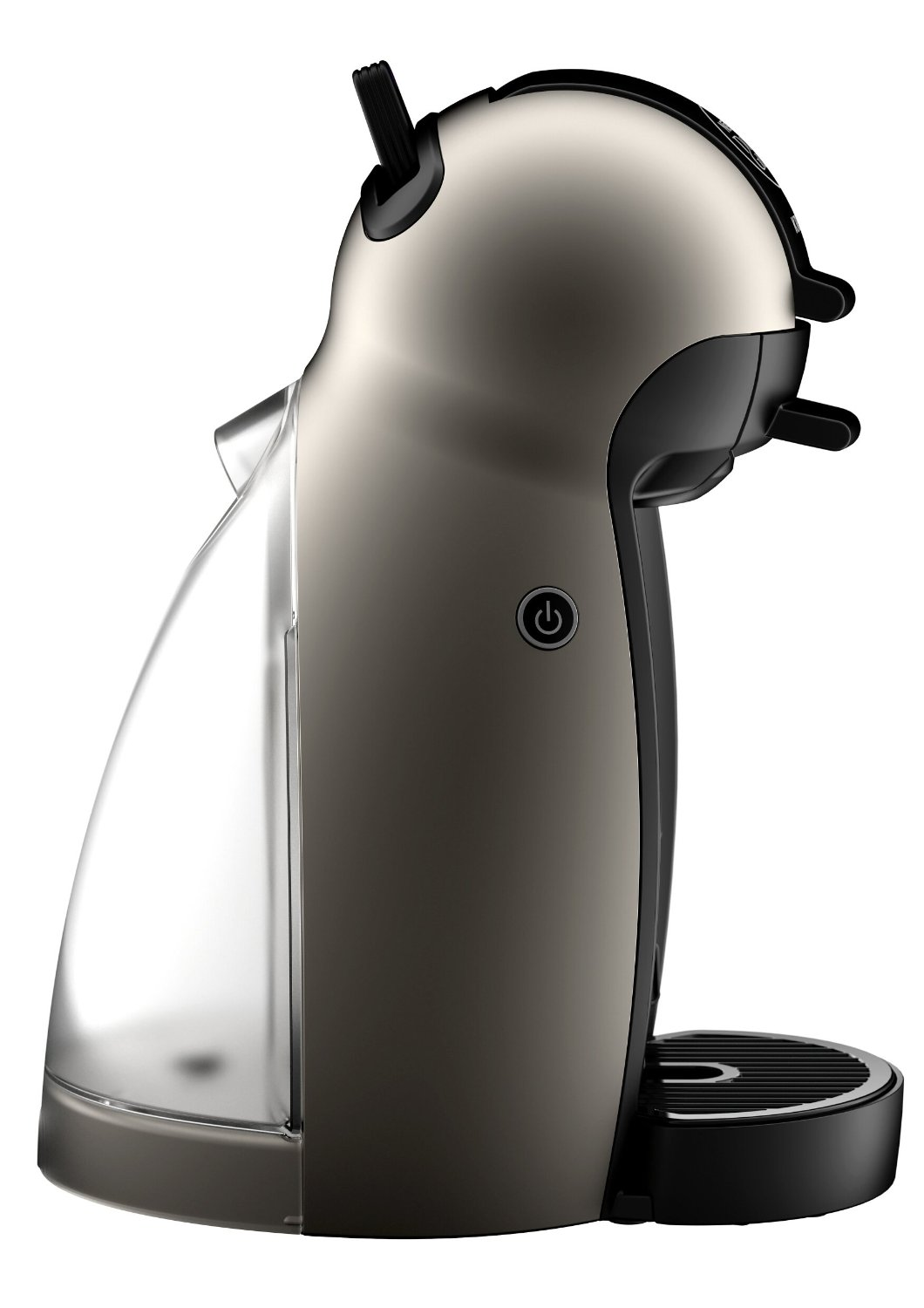 krups nescaf dolce gusto piccolo kp1009 in farbe titanium. Black Bedroom Furniture Sets. Home Design Ideas