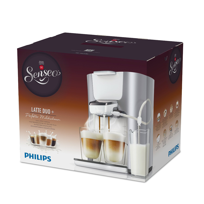 Philips Senseo HD7857/20 Latte Duo-Kaffeepadmaschine In