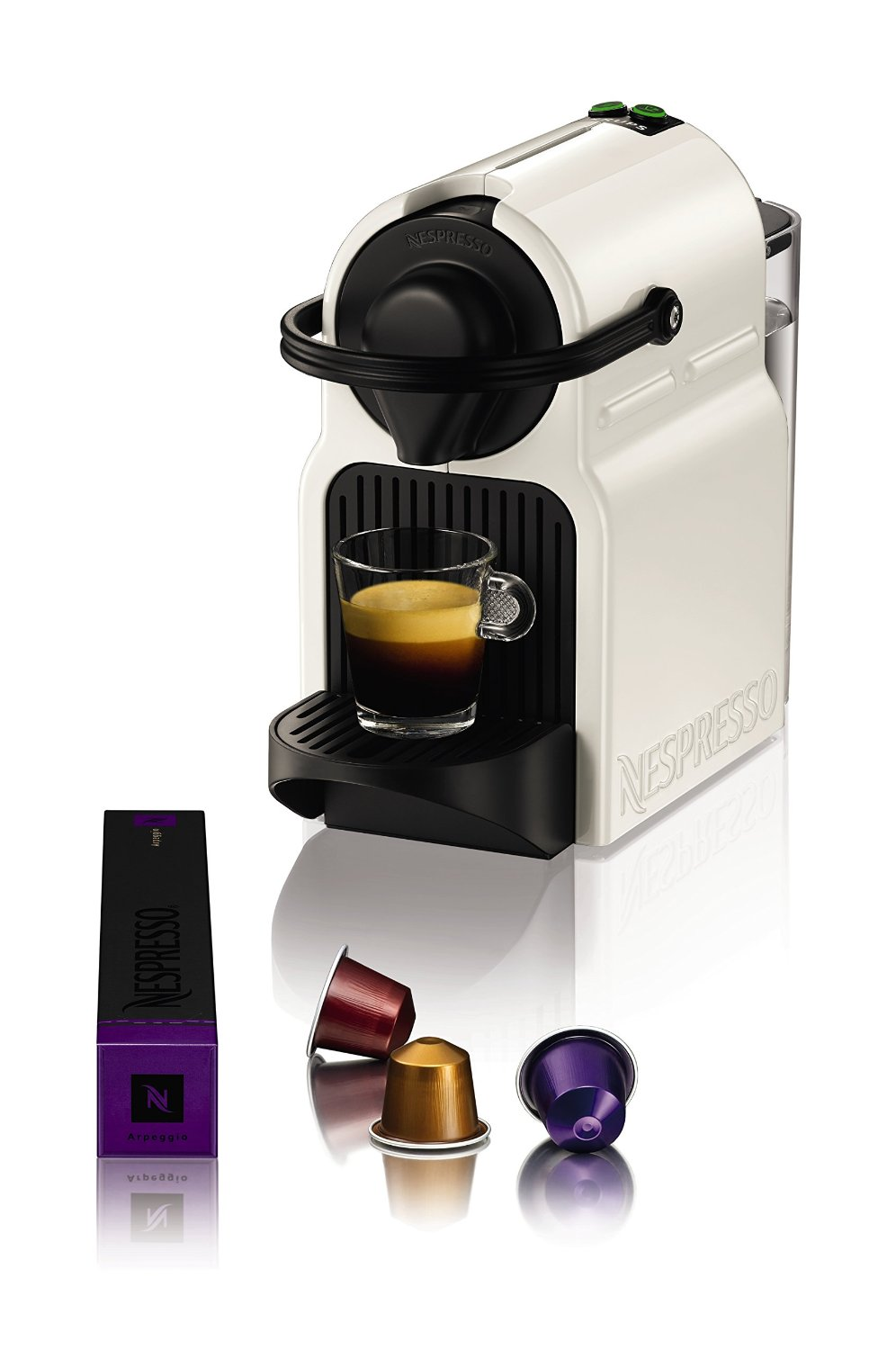 krups nespresso xn1001 inissia kaffeekapselmaschine in wei online g nstig bestellen. Black Bedroom Furniture Sets. Home Design Ideas