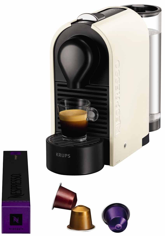 krups nespresso u pure cream xn2501 10. Black Bedroom Furniture Sets. Home Design Ideas