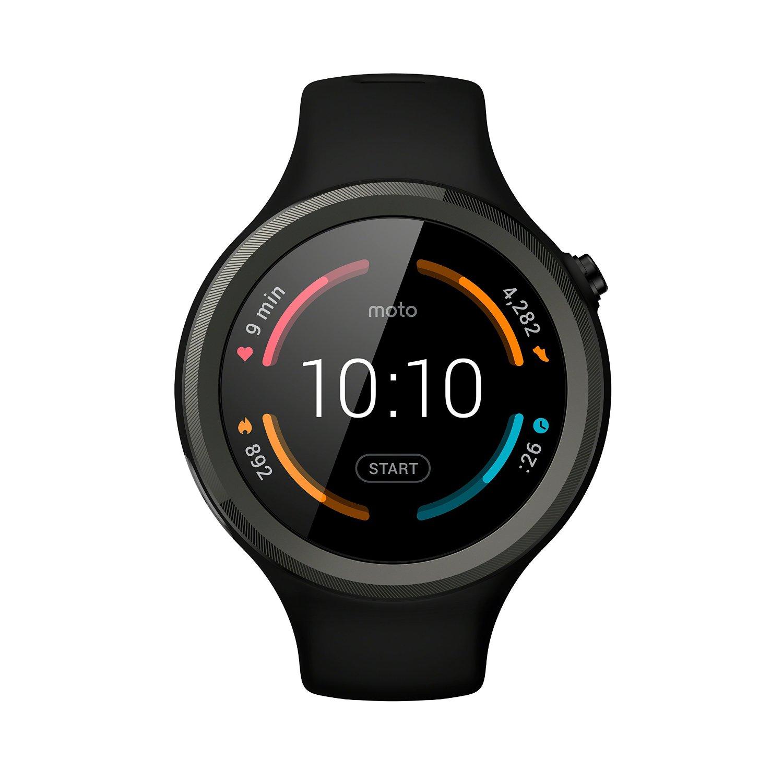 Motorola Moto 360 V2 Sport Smartwatch in schwarz online ...