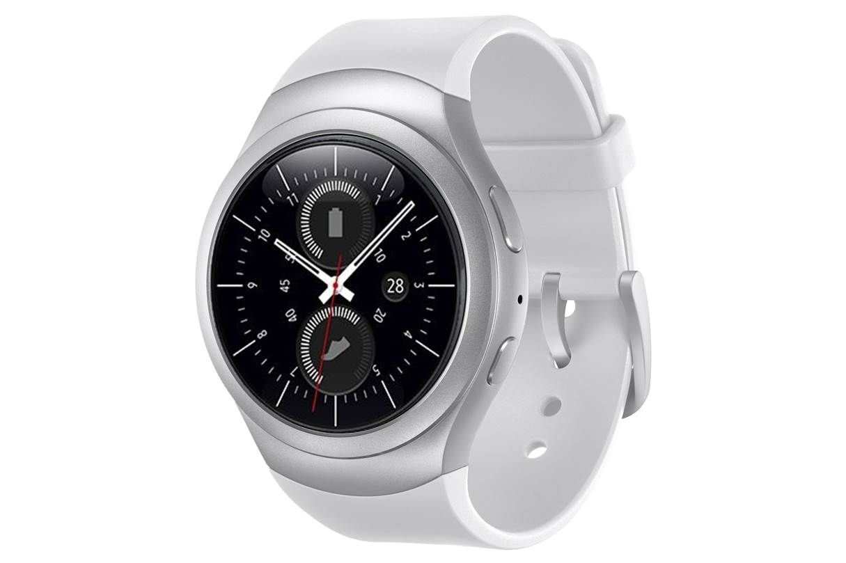 samsung gear s2 sport smartwatch in weiss silber online g nstig bestellen. Black Bedroom Furniture Sets. Home Design Ideas