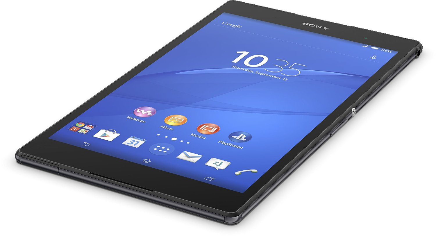 sony xperia z3 tablet compact sgp611 16gb wifi in schwarz. Black Bedroom Furniture Sets. Home Design Ideas