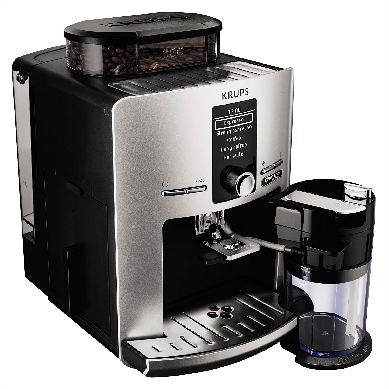 krups ea82fe kaffeevollautomat latt espress quattro force. Black Bedroom Furniture Sets. Home Design Ideas