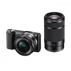 Sony-Alpha-5000-ILCE5000YB-Systemkamera-inkl-SEL-P1650-SEL-55210-Objektiven